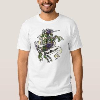 MacManus Tartan Unicorn T Shirts