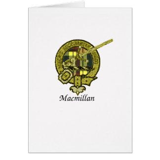 Macmillan Clan Crest Greeting Card