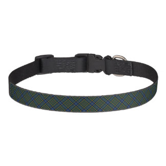MacMillan Clan Green and Blue Hunting Tartan Pet Collars