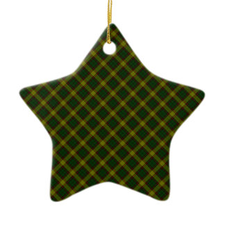 MacMillan Clan Tartan Scottish Designed Print Christmas Ornament