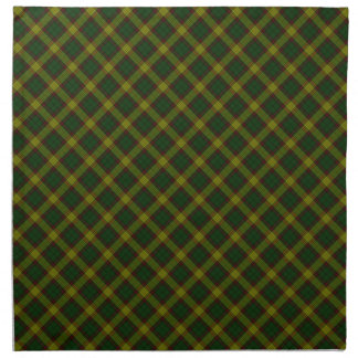 MacMillan Clan Tartan Scottish Designed Print Napkin