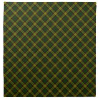 MacMillan Clan Tartan Scottish Designed Print Napkins