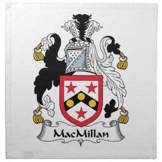 MacMillan Family Crest Printed Napkin