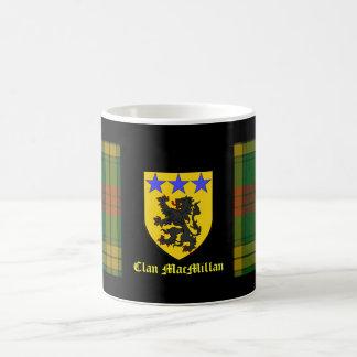 MacMillan Tartan Coat of Arms Basic White Mug