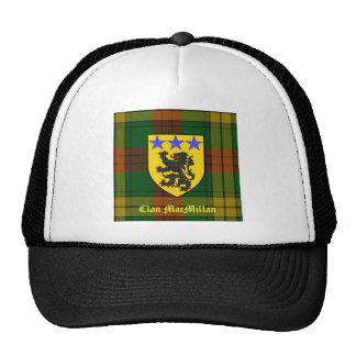 MacMillan Tartan Coat of Arms Cap