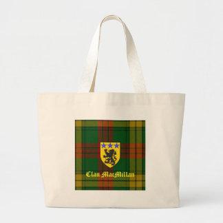 MacMillan Tartan Coat of Arms Large Tote Bag