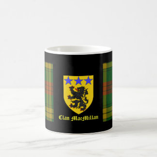 MacMillan Tartan Coat of Arms Mug