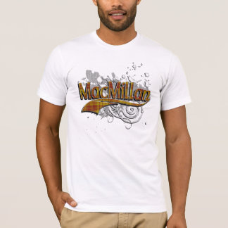 MacMillan Tartan Grunge T-Shirt