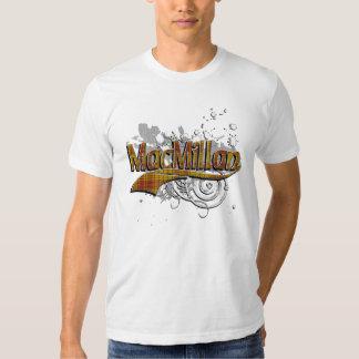 MacMillan Tartan Grunge Tee Shirts