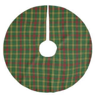 MacMillan Tartan Plaid Tree Skirt Brushed Polyester Tree Skirt
