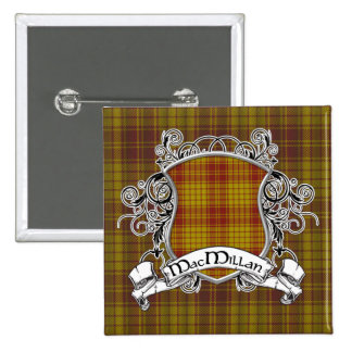 MacMillan Tartan Shield 15 Cm Square Badge