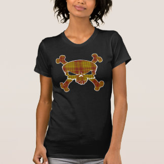 MacMillan Tartan Skull No Banner Tee Shirt