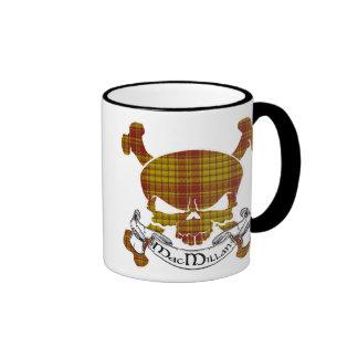MacMillan Tartan Skull Ringer Mug