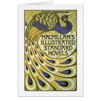 MacMillan's Peacock Edition Greeting Card