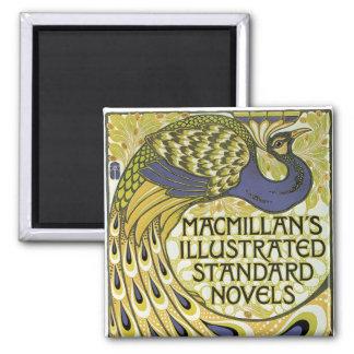MacMillan's Peacock Edition Square Magnet