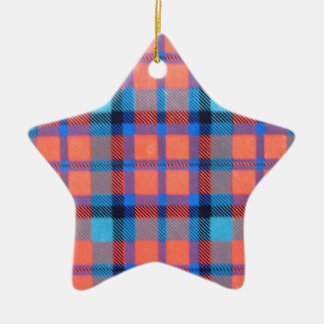 MACNAUGHTON SCOTTISH FAMILY TARTAN CHRISTMAS ORNAMENT