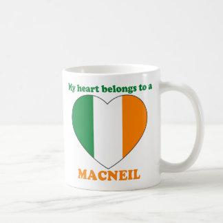 Macneil Basic White Mug
