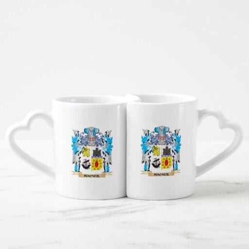 Macneil Coat of Arms - Family Crest Couples Mug