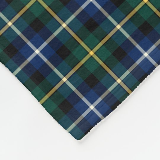 MacNeil of Barra Blue and Green Clan Tartan