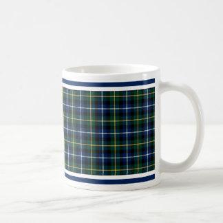 MacNeil of Barra Clan Tartan Basic White Mug