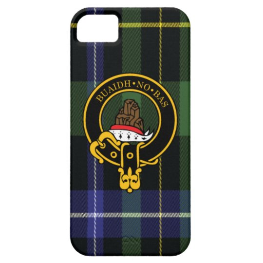 Macneil Scottish Crest and Tartan iPhone 5/5S case