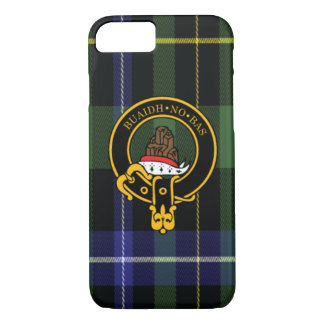 Macneil Scottish Crest and Tartan iPhone 7 case