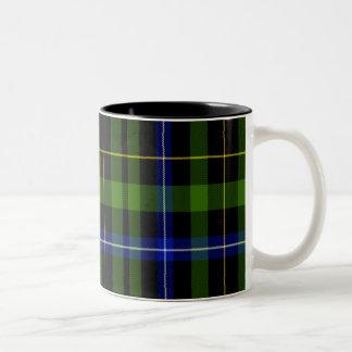 Macneil Scottish Tartan Two-Tone Coffee Mug