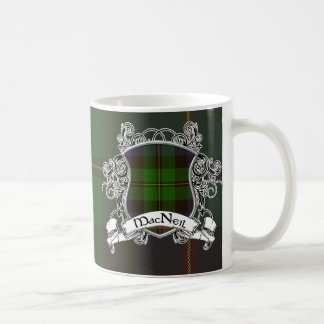 MacNeil Tartan Shield Coffee Mug