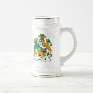 MacNeill Family Crest Beer Steins