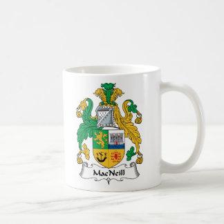 MacNeill Family Crest Classic White Coffee Mug