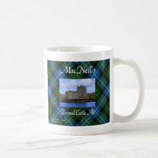 MacNeil's Kisimul Castle Ale Cup Basic White Mug