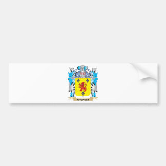 Macness Coat of Arms - Family Crest Bumper Stickers