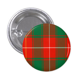 Macphee Scottish Tartan 3 Cm Round Badge