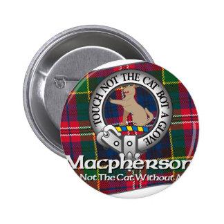 Macpherson Clan 6 Cm Round Badge