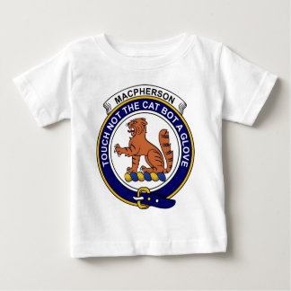 MacPherson Clan Badge Baby T-Shirt
