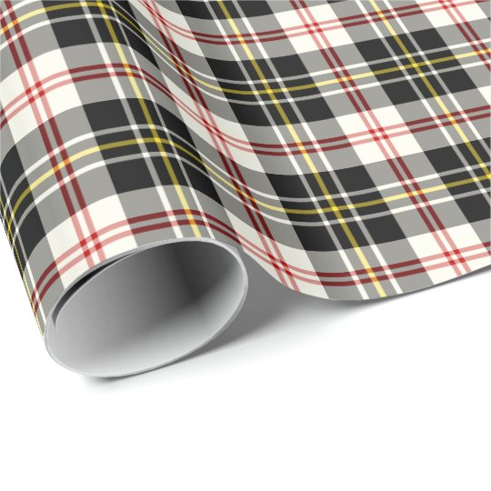 MacPherson Clan Dress Tartan Wrapping Paper