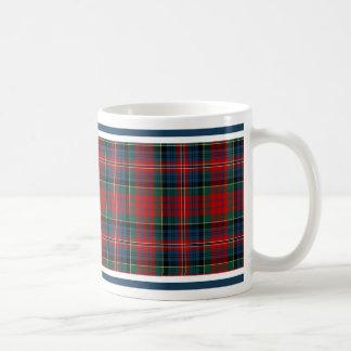 MacPherson Clan Tartan Basic White Mug