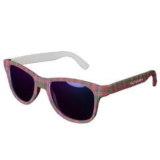 MacPherson Clan Tartan Plaid Custom Sunglasses