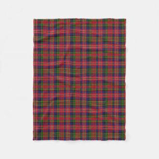 MacPherson Clan Tartan Plaid Fleece Blanket