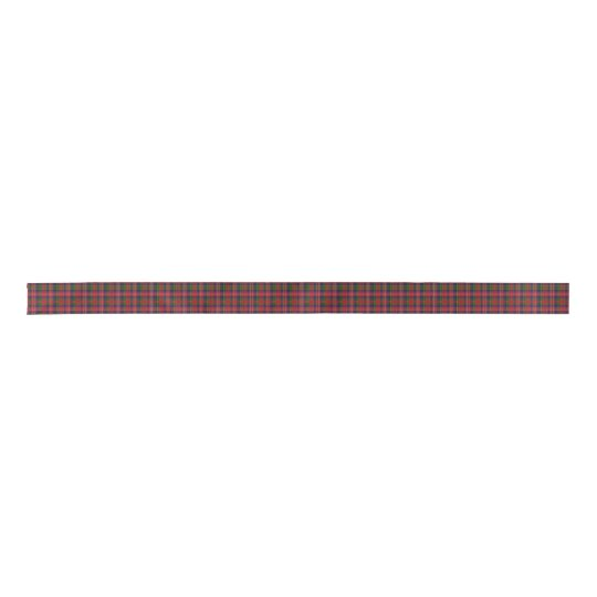 MacPherson Clan Tartan Plaid Ribbon Satin Ribbon