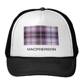 MACPHERSON HUNTING TARTAN CAP
