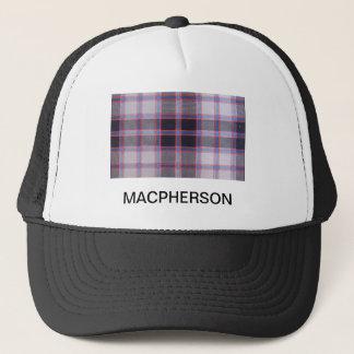 MACPHERSON HUNTING TARTAN TRUCKER HAT