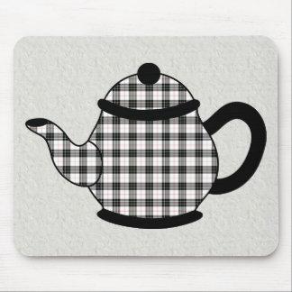 Macpherson Tartan Plaid Teapot Mouse Pad
