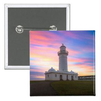 Macquarie Lighthouse   Sydney, Australia 15 Cm Square Badge