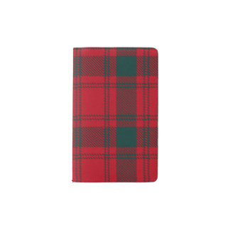 MacQuarrie Tartan Pocket Moleskine Notebook