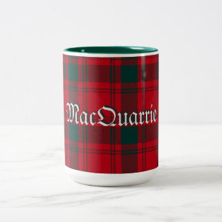 MacQuarrie Tartan Two-Tone Coffee Mug