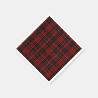 MacQueen Tartan Plaid Paper Napkins