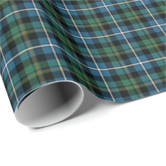 MacRae Clan Hunting Tartan Wrapping Paper