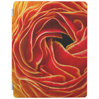 Macro flower abstract at Flower Fields iPad Cover