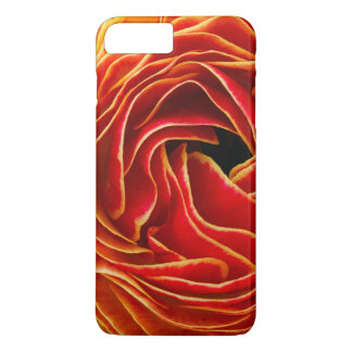 Macro flower abstract at Flower Fields iPhone 8 Plus/7 Plus Case